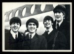 1964 Topps Beatles Black and White #123  Paul McCartney  Front Thumbnail