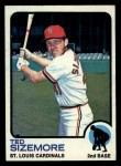 1973 Topps #128  Ted Sizemore  Front Thumbnail