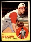 1963 Topps #82  Ed Rakow  Front Thumbnail