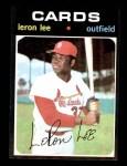 1971 Topps #521  Leron Lee  Front Thumbnail
