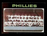 1971 Topps #268   Phillies Team Front Thumbnail