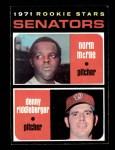 1971 Topps #93   -  Norm McRae / Denny Riddleberger Senators Rookies Front Thumbnail