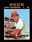 1971 Topps #14  Dave Concepcion  Front Thumbnail