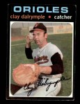 1971 Topps #617  Clay Dalrymple  Front Thumbnail
