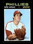 1971 Topps #192  Bill Wilson  Front Thumbnail