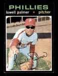 1971 Topps #554  Lowell Palmer  Front Thumbnail