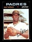 1971 Topps #301  Earl Wilson  Front Thumbnail