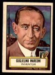 1952 Topps Look 'N See #69  Guglielmo Marconi  Front Thumbnail