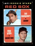 1971 Topps #176   -  Doug Griffin / Bob Montgomery Red Sox Rookies Front Thumbnail