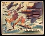 1941 Gum Inc. War Gum #78   The Battle Of Midway Front Thumbnail