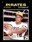 1971 Topps #388  Al Oliver  Front Thumbnail