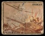 1950 Topps Freedoms War #9   Flying Metal   Front Thumbnail