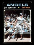 1971 Topps #78  Jim Spencer  Front Thumbnail
