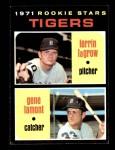 1971 Topps #39   -  Gene Lamont / Lerrin LaGrow Tigers Rookies Front Thumbnail