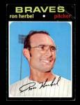 1971 Topps #387  Ron Herbel  Front Thumbnail