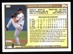 1999 Topps #255  Dustin Hermanson  Back Thumbnail