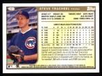 1999 Topps #257  Steve Trachsel  Back Thumbnail