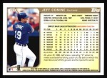 1999 Topps #393  Jeff Conine  Back Thumbnail
