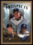 1999 Topps #432  Gabe Kapler / Armando Rios / Fernando Seguignol  Front Thumbnail