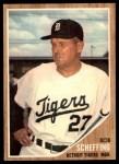 1962 Topps #416  Bob Scheffing  Front Thumbnail