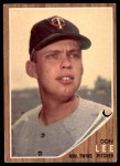 1962 Topps #166 GRN Don Lee  Front Thumbnail
