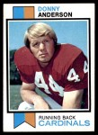 1973 Topps #485  Donny Anderson  Front Thumbnail