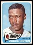 1965 Topps #235  Chuck Hinton  Front Thumbnail