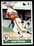 1979 Topps #617  Terry Puhl  Front Thumbnail