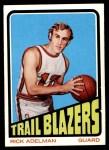 1972 Topps #117  Rick Adelman   Front Thumbnail