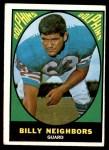1967 Topps #84  Billy Neighbors  Front Thumbnail