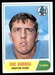 1968 Topps #146  Ode Burrell  Front Thumbnail