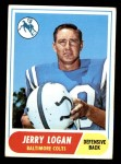 1968 Topps #47  Jerry Logan  Front Thumbnail