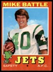 1971 Topps #179  Mike Battle  Front Thumbnail