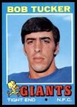 1971 Topps #79  Bob Tucker  Front Thumbnail