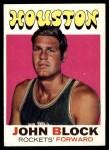 1971 Topps #16  John Block   Front Thumbnail