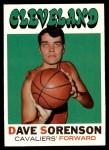 1971 Topps #71  Dave Sorensen   Front Thumbnail