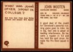 1967 Philadelphia #47  John Wooten  Back Thumbnail