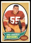 1970 Topps #93  Chris Hanburger  Front Thumbnail