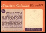 1970 Topps #255  Houston Antwine  Back Thumbnail