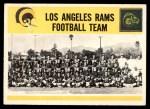 1964 Philadelphia #97   Rams Team Front Thumbnail