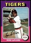 1975 Topps #628  Ron LeFlore  Front Thumbnail