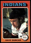 1975 Topps #238  Dave Duncan  Front Thumbnail