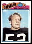 1977 Topps #99  Mike Webster  Front Thumbnail