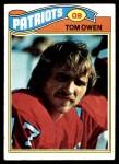 1977 Topps #293  Tom Owen  Front Thumbnail