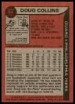 1979 Topps #64  Doug Collins  Back Thumbnail