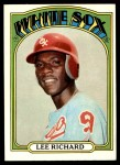 1972 Topps #476  Lee Richard  Front Thumbnail