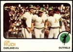 1973 Topps #360  Joe Rudi  Front Thumbnail