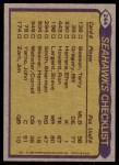 1979 Topps #244   -  Sherman Smith / Steve Largent / Cornell Webster / Bill Gregory Seahawks Leaders Back Thumbnail