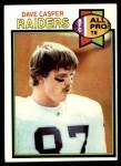 1979 Topps #460   -  Dave Casper All-Pro Front Thumbnail
