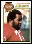 1979 Topps #410  Cleveland Elam  Front Thumbnail
